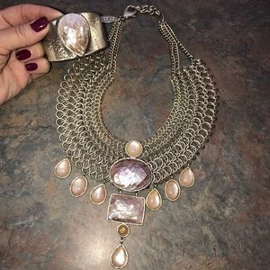 Chico's necklace and bracelet